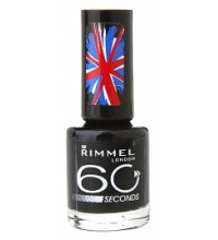 RIMMEL LONDON 60 SECOND HOT BLACK TO GO 820 8ML