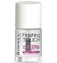 RIMMEL LONDON FINISHING TOUCH 3D PLUMING TOP COAT 12ML