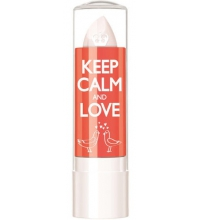 RIMMEL LONDON LIP BALM KEEP CALM & LOVE CRYSTAL CLEAR 060 3.7GR