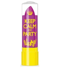 RIMMEL LONDON LIP BALM KEEP CALM & PARTY VIOLET BLUSH 050 3.7GR