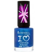 RIMMEL LONDON LASTING FINISH AZURE 198 8ML