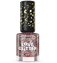 RIMMEL LONDON LOVE GLITTER TINSEL TOES 033 8ML