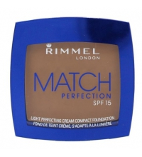 RIMMEL LONDON FOUNDATION MATCH PERFECTION CREAM COMPACT BRONZE 402 7GR