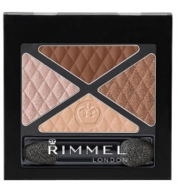 RIMMEL LONDON GLAM'EYES QUAD EYES SOMBRA DE OJOS 030 ROYAL TEA