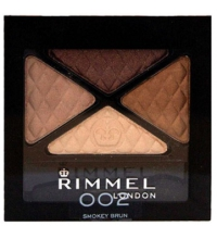 RIMMEL LONDON GLAM'EYES QUAD EYES SOMBRA DE OJOS 002 SMOKEY BRUN