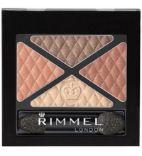 RIMMEL LONDON GLAM EYES QUAD EYES SOMBRA DE OJOS