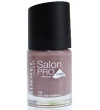 RIMMEL LONDON NAIL POLISH SALON PRO CHIC & CHEERFUL 710 12ML