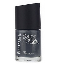 RIMMEL LONDON NAIL POLISH SALON PRO CUPPA EARL GREY 457 12ML