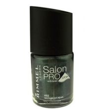 RIMMEL LONDON NAIL POLISH SALON PRO MOTHER OF PEARL 602 12ML