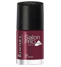 RIMMEL LONDON NAIL POLISH SALON PRO RED AWARD 394 12ML