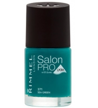 RIMMEL LONDON NAIL POLISH SALON PRO SEA GREEN 371 12ML