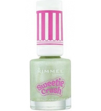 RIMMEL LONDON NAIL POLISH SWEETIE CRUSH FIZZY APPLELICIOUS 010 8ML