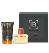 LAURA BIAGIOTTI ROMA UOMO EDT 75 ML VAPO + 2 UNDS. DE SHOWER GEL 50 ML C/U SET REGALO