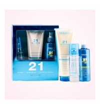 SALERM 21 (SALERM 21 FINISH 125 ML + SALERM 21 CHAMPU 300 ML + SALERM 21 EXPRESS 150 ML) SET
