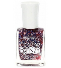 SALLY HANSEN COLOUR FRENZY RED, WHITE & HUE 340 11.8ML