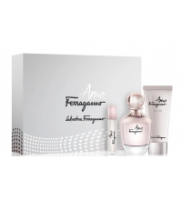 SALVATORE FERRAGAMO AMO EDP 100 ML VAPO + B/L 100 ML + MINI 10 ML SET REGALO