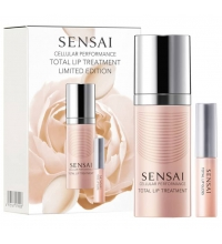 SENSAI CELLULAR  PERFORMANCE TOTAL LIP TREATMENT 15ML + TOTAL LIP GLOSS 2,4Ml SET REGALO