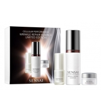 SENSAI CELLULAR PERFORMANCE WRINKLE REPAIR ESSENCE 40ML+PRIME SOLUTION 5ML+REPAIR CREAM 8ML SET REGALO