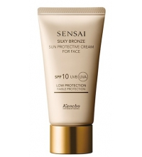 SENSAI SILKY BRONZE SUN PROTECTIVE CREAM FACE SPF 10 50 ML