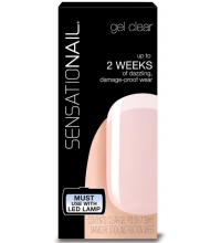SENSATIONAIL GEL DE UÑAS COLOR MANICURA FRANCESA CLEAR BASE & TOP COAT