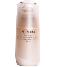 SHISEIDO BENEFIANCE WRINKLE SMOOTHING DAY EMULSION SPF20 75ML