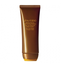 SHISEIDO BRILLIANT BRONZE SELF TANNING EMULSION 100 ML