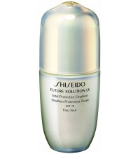 SHISEIDO FUTURE SOLUTION LX PROTECTIVE EMULSION SPF 18 75 ML