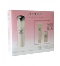 SHISEIDO IBUKI REFINING MOISTURIZER 75 ML + GENTLE CLEANSER 30 ML + SOFT.CONCENTRATE 15 ML SET
