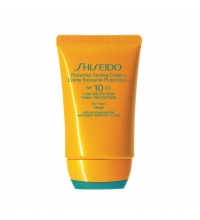 SHISEIDO SUN PROTECTION TANNING AUTOBRONCEADOR SPF 10 FACE CREAM 50 ML