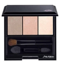SHISEIDO LUMINIZING SATIN EYE COLOR TRIO BE 213 NUDE