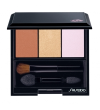SHISEIDO LUMINIZING SATIN EYE COLOR TRIO BR 214 INTO THE WOODS