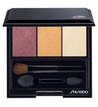 SHISEIDO LUMINIZING SATIN EYE COLOR TRIO RD299 BEACH GRASS