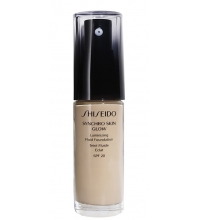 SHISEIDO SYNCHRO SKIN GLOW LASTING FOUNDATION R2 ROSE 30 ML