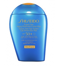 SHISEIDO EXPERT SUN AGING PROTECTION LOTION PLUS SPF50 + WETFORCE 100 ML