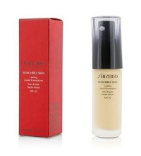 SHISEDO SYNCHRO SKIN LASTING FOUNDATION G2 GOLDEN 30 ML