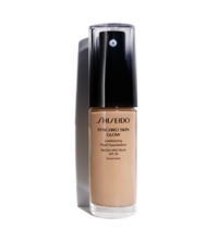 SHISEIDO SYNCHRO SKIN GLOW LASTING FOUNDATION R4 ROSE 30 ML