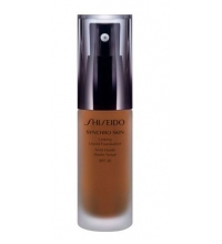 SHISEDO SYNCHRO SKIN LASTING FOUNDATION G6 30 ML