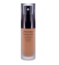 SHISEDO SYNCHRO SKIN LASTING FOUNDATION R4 ROSE 30 ML