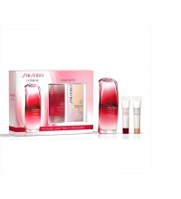 SHISEIDO ULTIMUNE POWER INFUSING CONCENTRATE 30 ML + ULTIMUNE EYE  5 ML + BENEFIANCE 5 ML SET REGALO