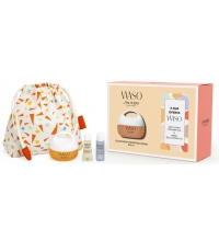 SHISEIDO WASO CLEAR MEGA HIDRATING CREAM + 3 PCS SET REGALO