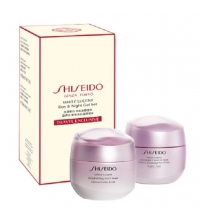SHISEIDO WHITE LUCENT BRIGHTENING GEL CREAM 50ML+ OVERNIGHT CREAM & MASK 75ML SET REGALO