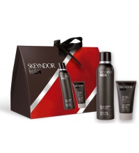 SKEYNDOR MEN GEL AFEITAR 150ML+EMULSION HIDRATANTE SET REGALO
