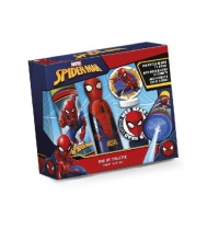 SPIDERMAN 3D EDT 120 ML + PISTOLA DE AGUA + DIANAS SET REGALO