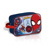 SPIDERMAN  EDT 50 ML + GEL+ LLAVERO + NECESER SET REGALO