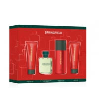 SPRINGFIELD EDT 100 ML+DEO 150ML + GEL 75 ML + AFTER SHAVE 75ML SET REGALO
