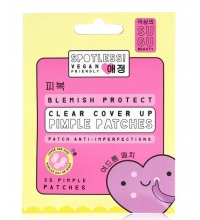 SUGU BEAUTY SPOTLESS BLEMISH PROTECT PIMPLE PATCHES (36 UNIDADES)