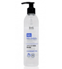 SYS GEL HIDROALCOHOLICO CON ALOE VERA 250ML