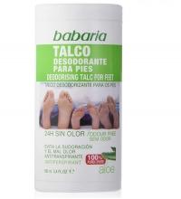 BABARIA TALCO DESODORANTE PARA PIES ALOE VERA 100ML
