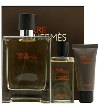 HERMES TERRE D´HERMES EDT 100 ML + GEL 40 ML + A/S 15 ML SET REGALO
