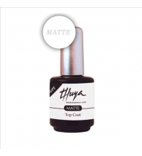 THUYA ESMALTE PERMANENTE GEL ON-OFF TOP COAT MATTE 14 ML